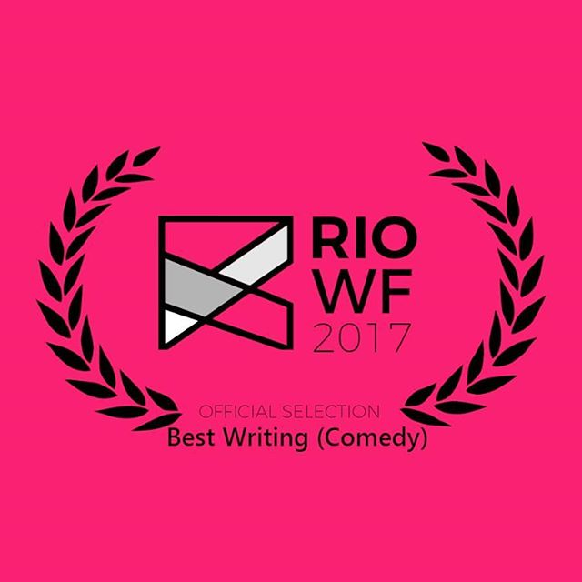"Thrilled to announce that we are not only an Official Selection, but also a nominee for ""Best Writing in a Comedy"" at the Rio Web Rest, happening Nov 16-19th. Over the past year our quirky comedy webseries has screened at festivals in New York - Hollywood -Toronto - and now Rio, and we couldn't be happier! Thanks to everyone who has watched it, shared it, supported us and for all the kind words! Xx"
