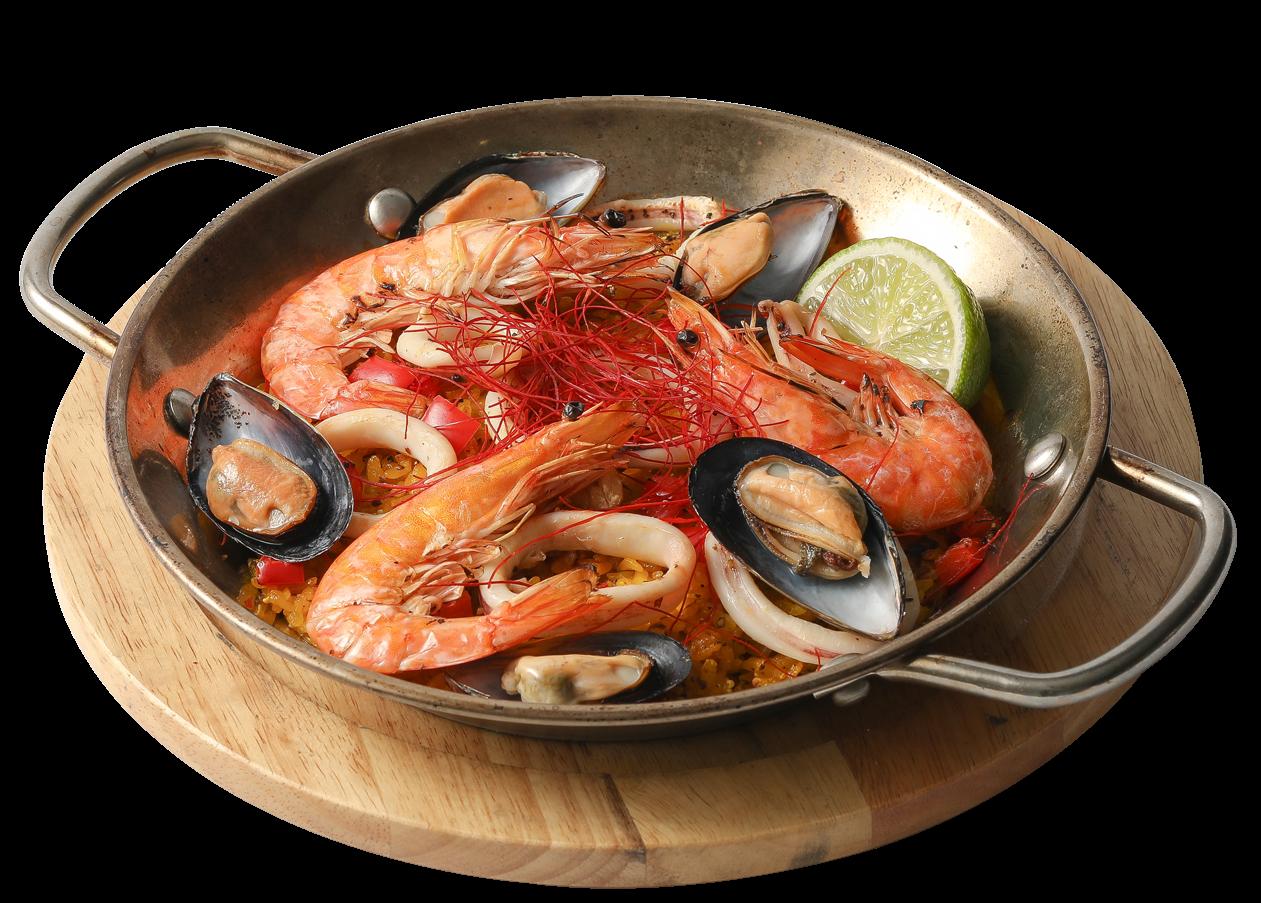 西班牙海鮮烤飯 $ 320