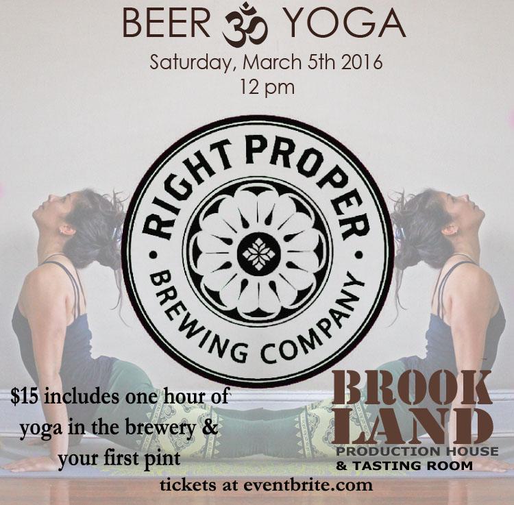beer & yoga