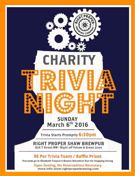 Charity Trivia Night