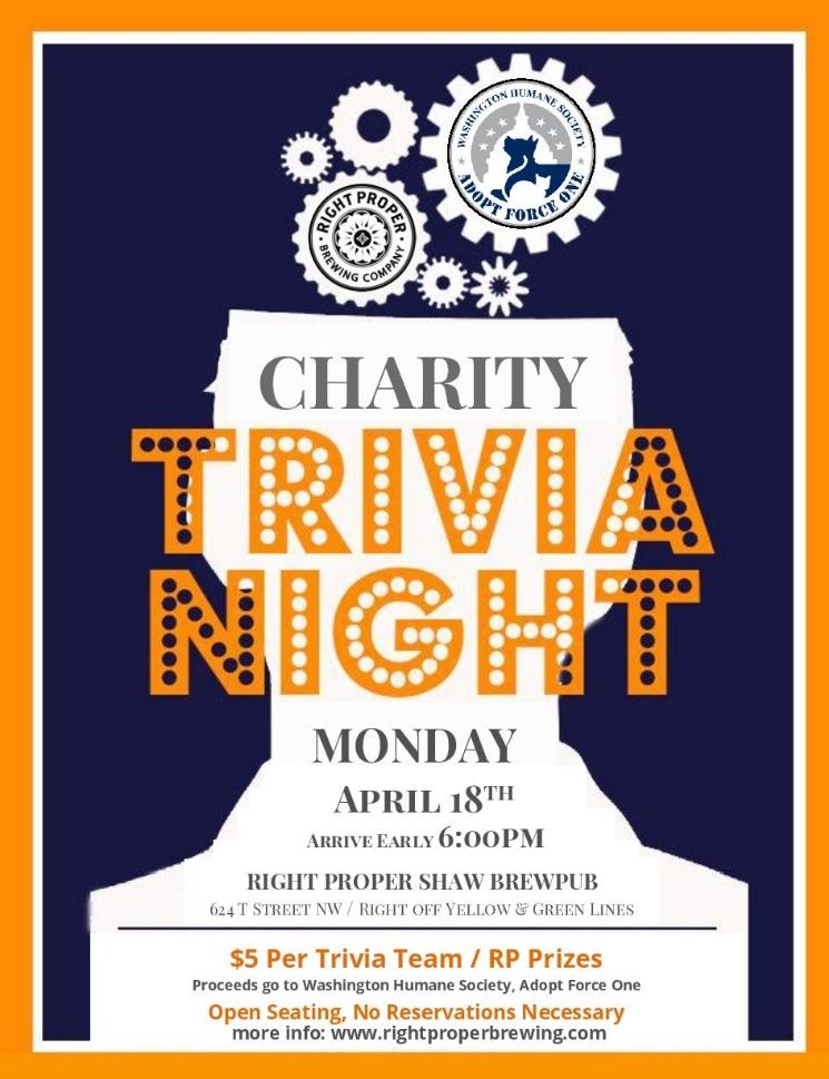 charity trivia whs