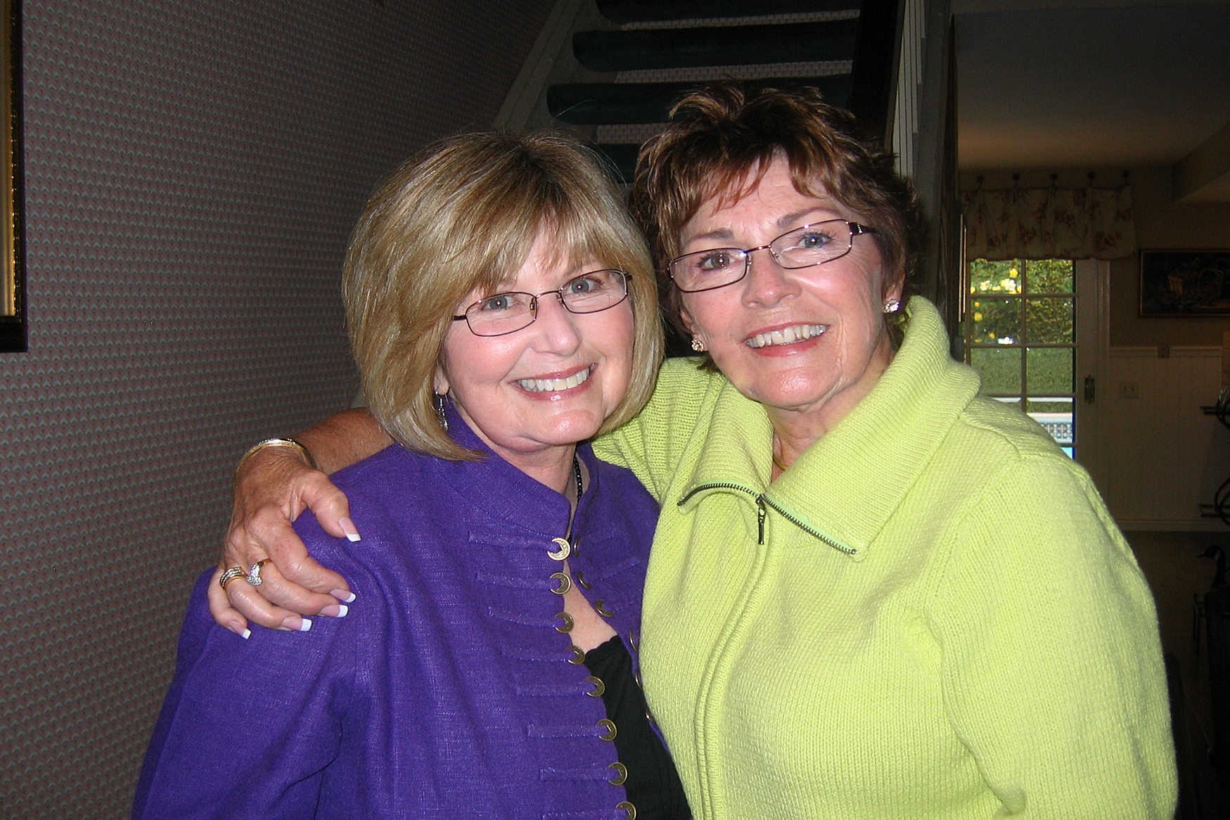 Susie Kimes (president from 1985-1995) and Ginger Bertoni (president from 1995-2007)