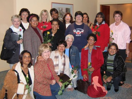 NEWIM Team with women in Cape Town, 2005