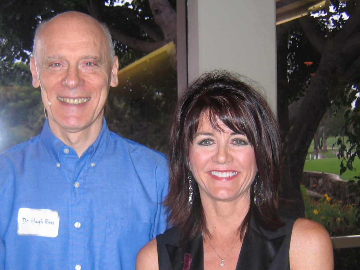 Hugh Ross and Teri Thompson (Bakersfield Chapter President), 2009