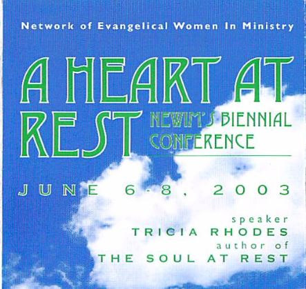 A Heart At Rest Conference 2003