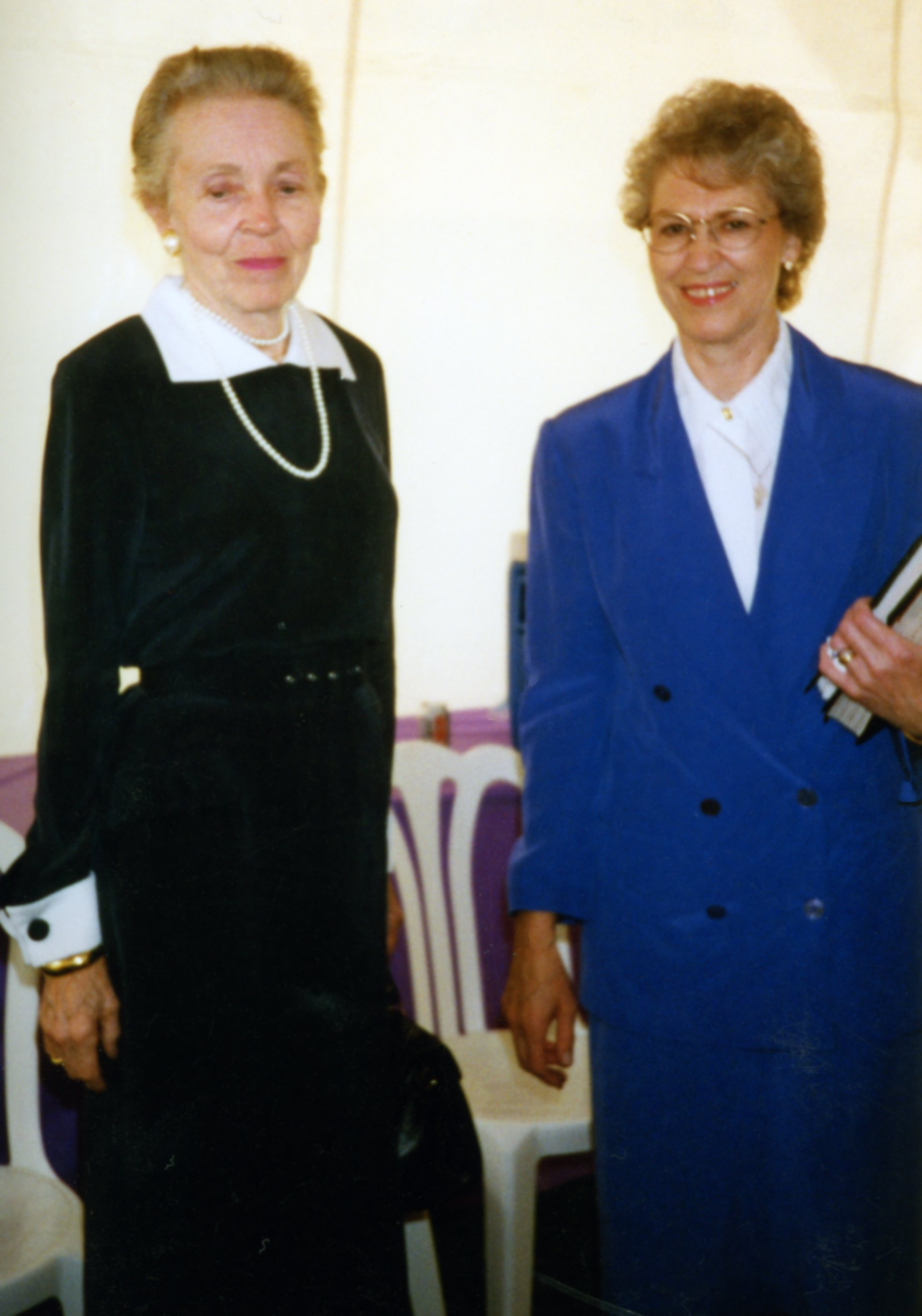 Elisabeth Elliot and Jill Briscoe