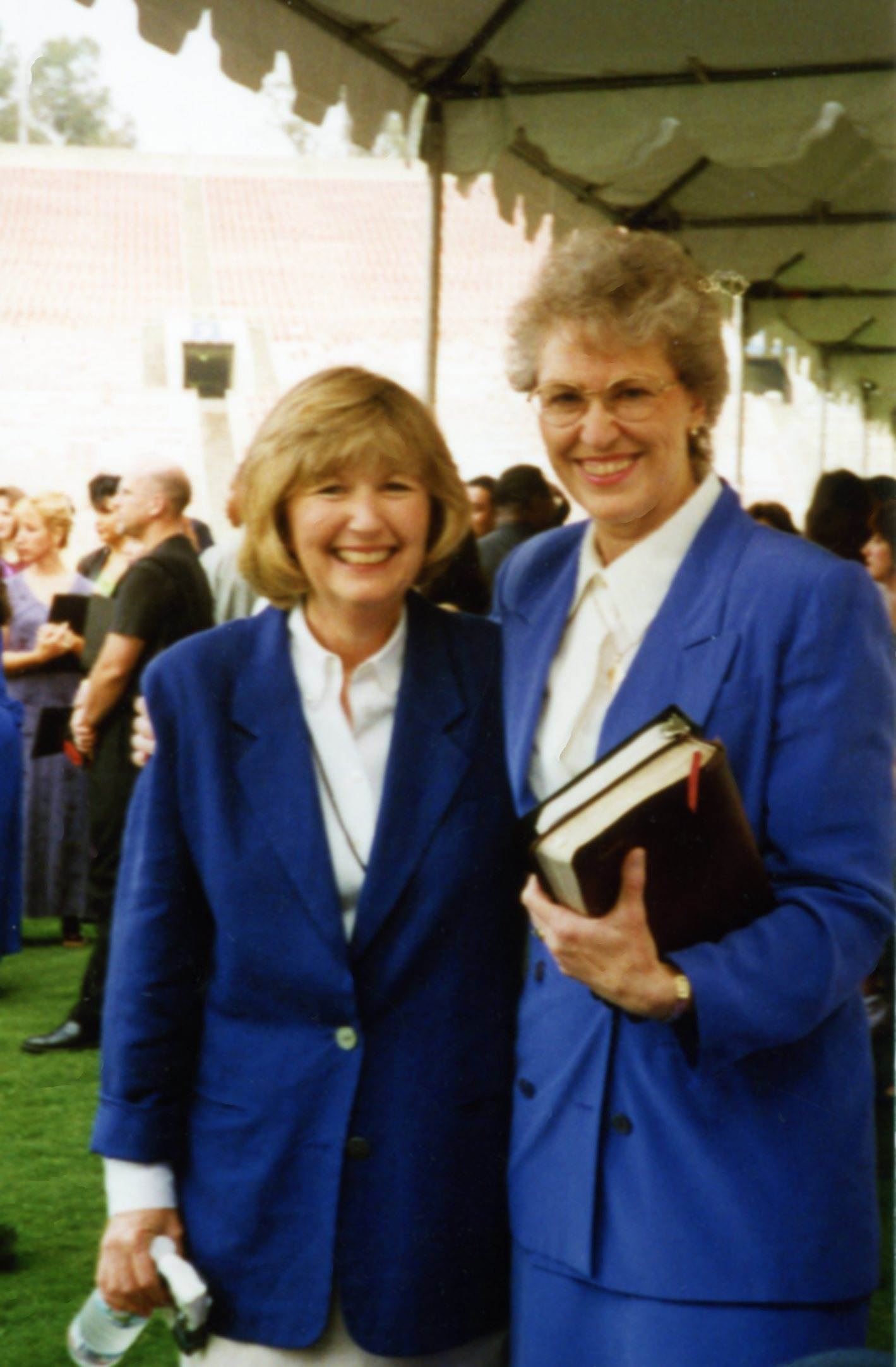 Susie Kimes and Jill Briscoe