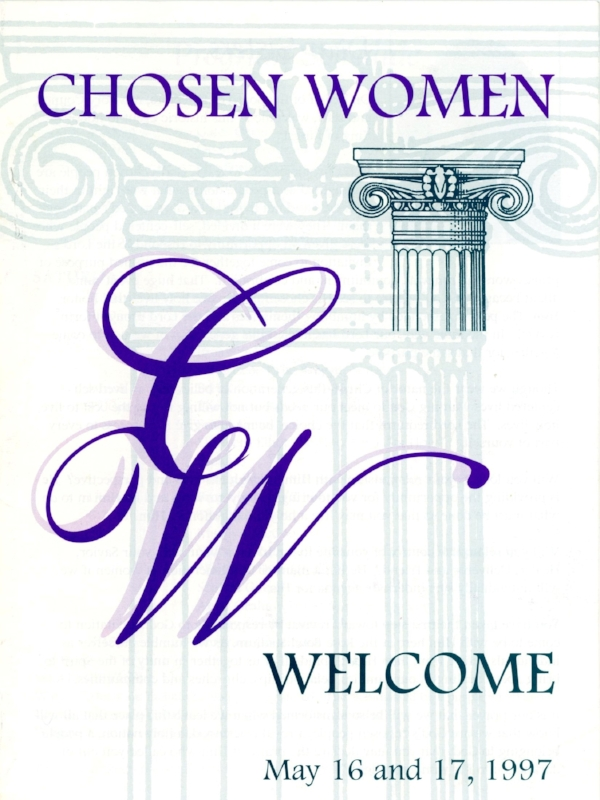 Chosen Women - Rose Bowl program