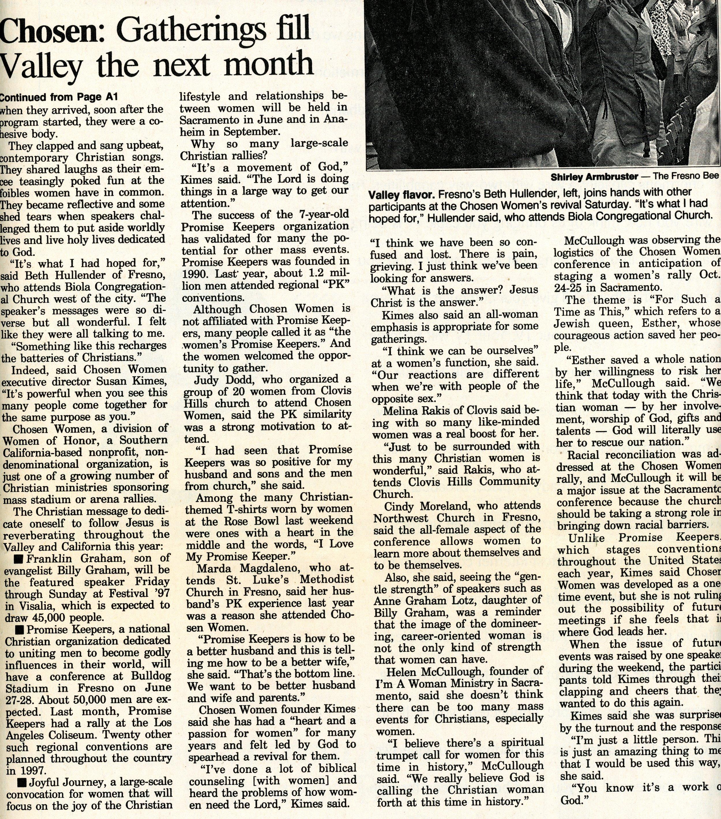 Fresno Bee, May 19, 1997
