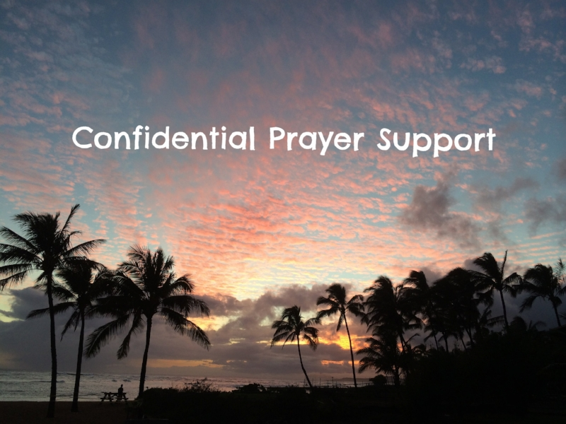 We would love to pray for you