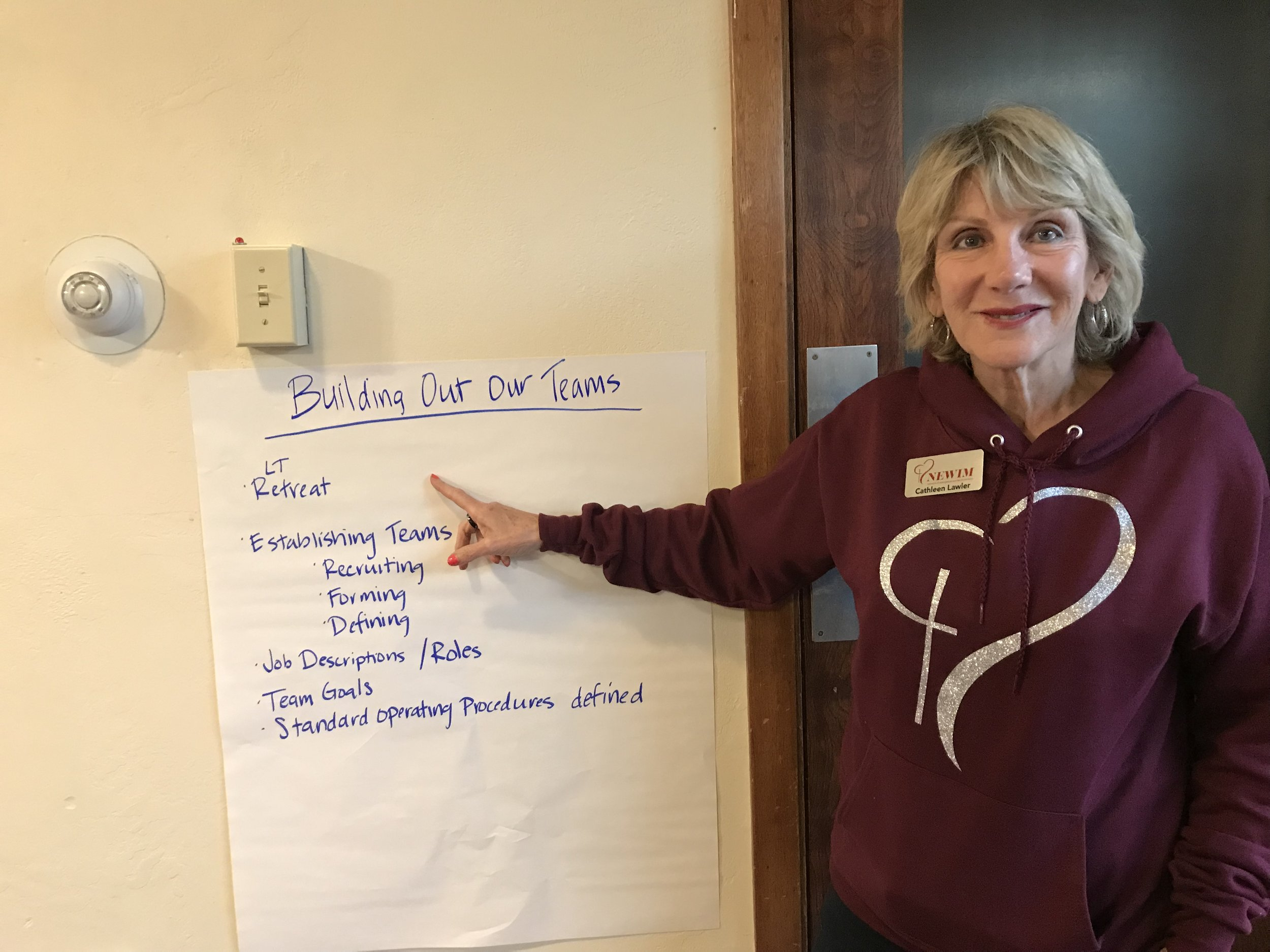 Cathleen Lawler, Leadership Team Retreat 2019
