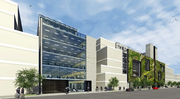 Artists impression of Ocean Partners proposal to redevelop Lichfield Street car park. Supplied