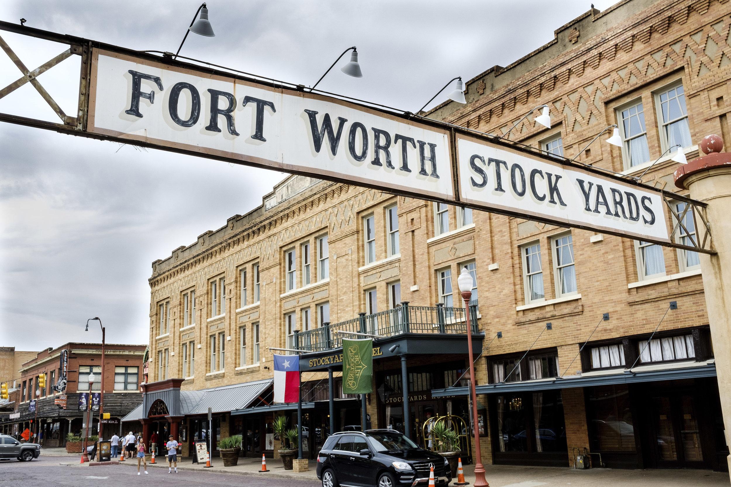 Fort Worth Stockyards Aug 2017