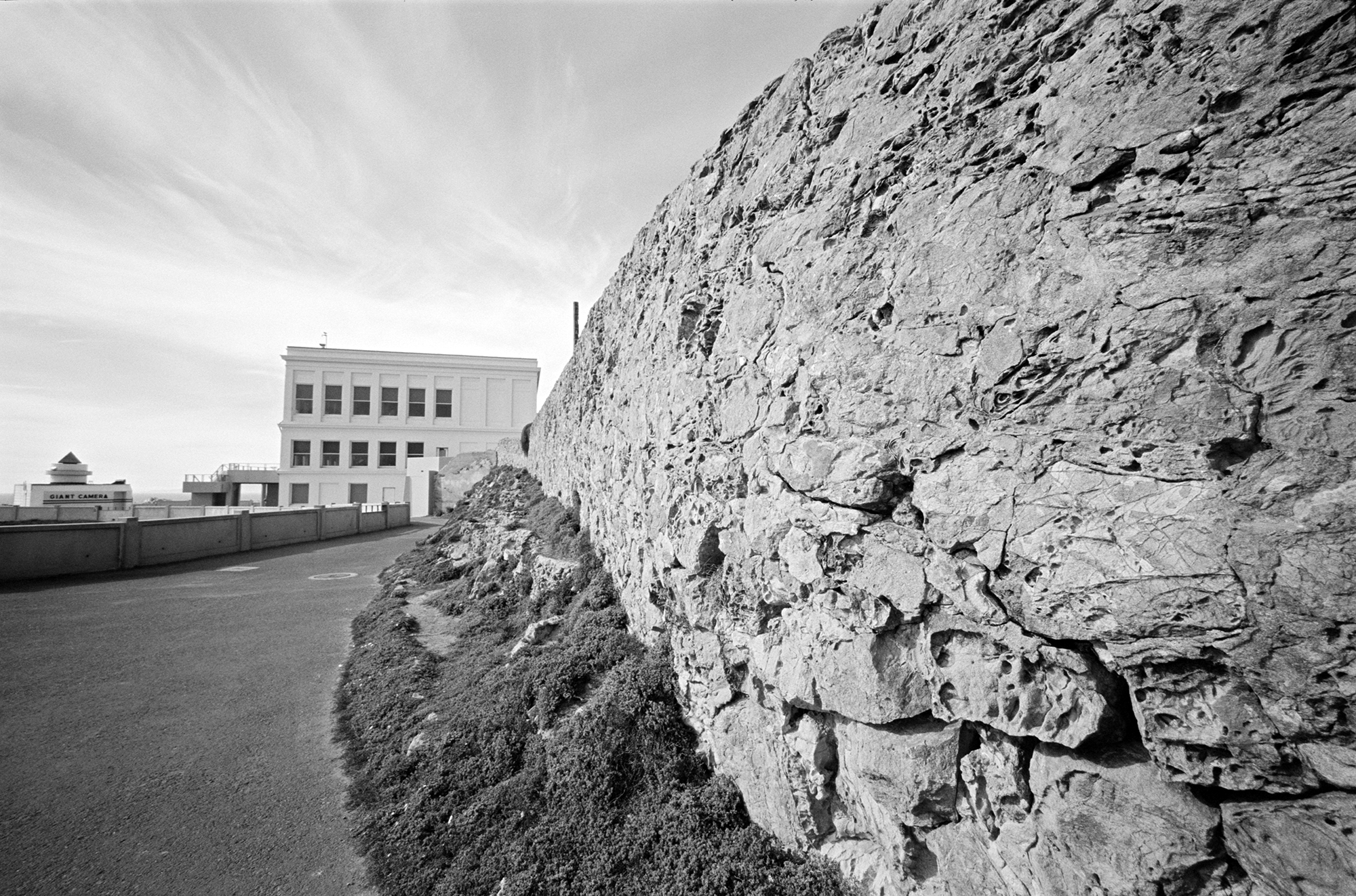 View of the Cliff House in San Francisco taken with a Leica M3 and Voigtlander 15mm lens.