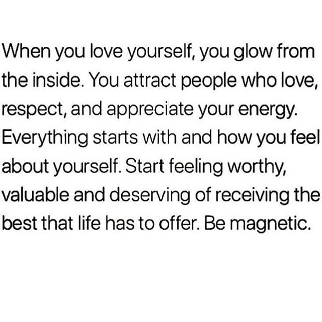 Self-Love is a relationship goal 🙌 wouldn't you say? The foundation to true love is.. how you love yourself 🌹❤️⠀ And if no one's told you yet today..⠀ you are loved!!⠀ Please kindly spread the message 😉