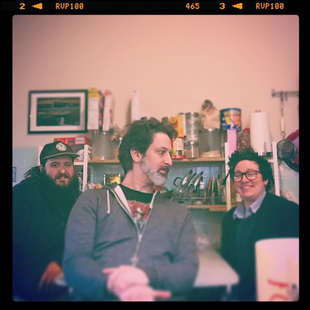 Curtain' some jazz tunes with #theAndrews (or is it #the2andrews ?) #superheroaudio #kitchenseries #chicagomusic