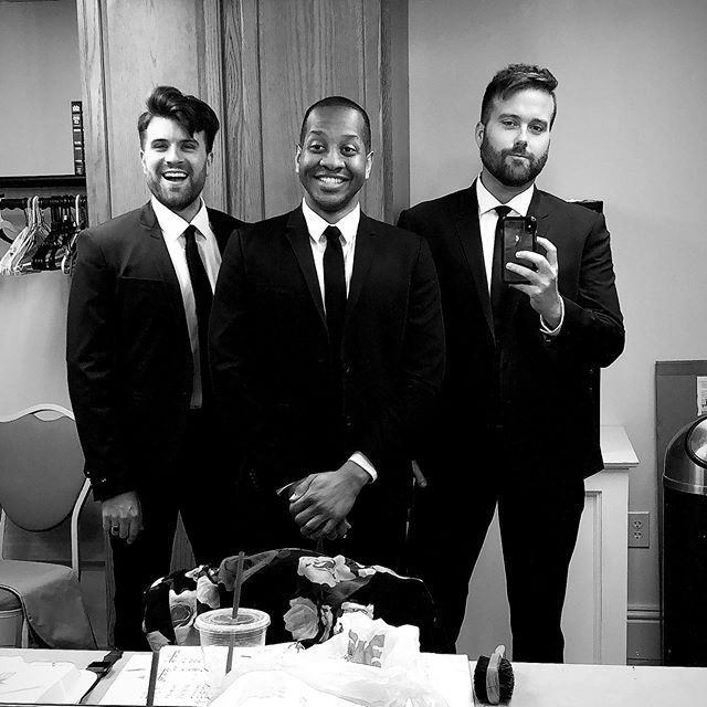 Making music tonight in Waretown, New Jersey at Greenbriar Oceanaire! . . . . . #shadesofbuble #michaelbuble #michaelbublé #tribute #singing #singinggroups #instasinging #music #instamusic #musician #musicians #singers #boyband #americasgottalent #xfactor