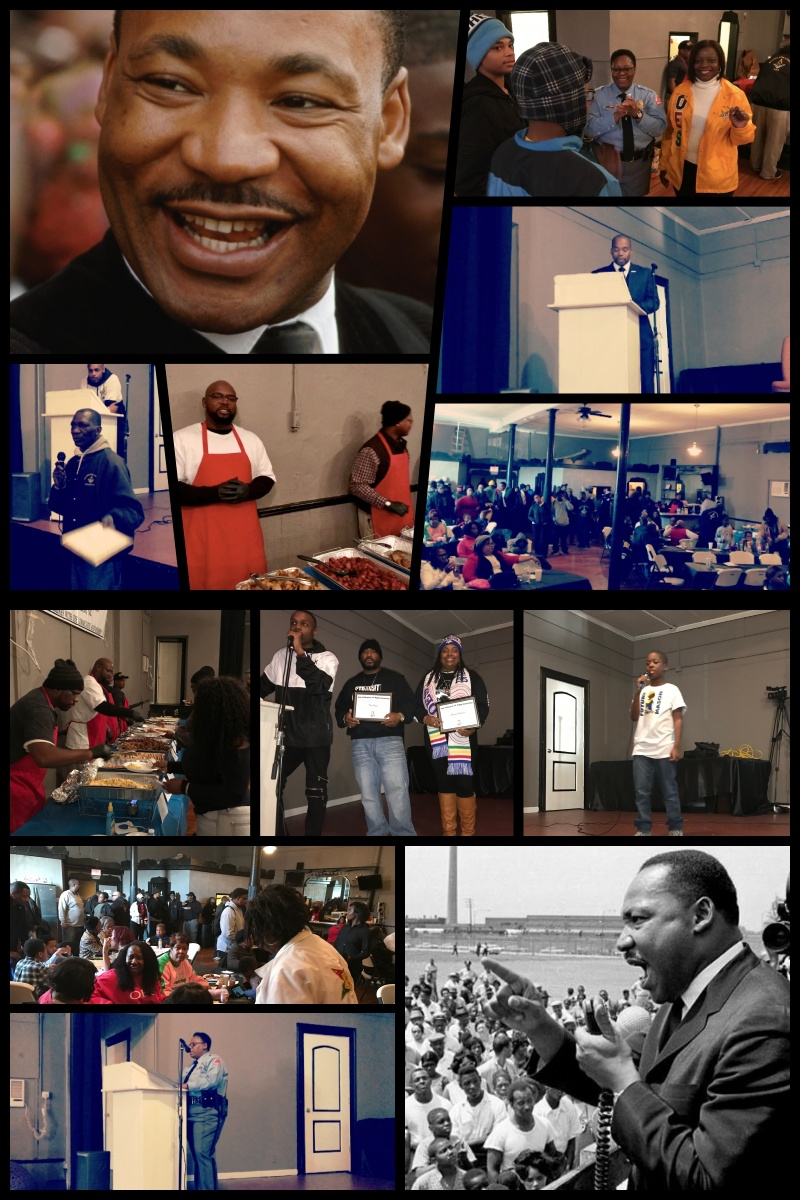 ...Established Annual MLK, Jr. Day Breakfast. - A Free Community Breakfast Filled With Guest Speakers, Youth Performances, & Yes - Food!