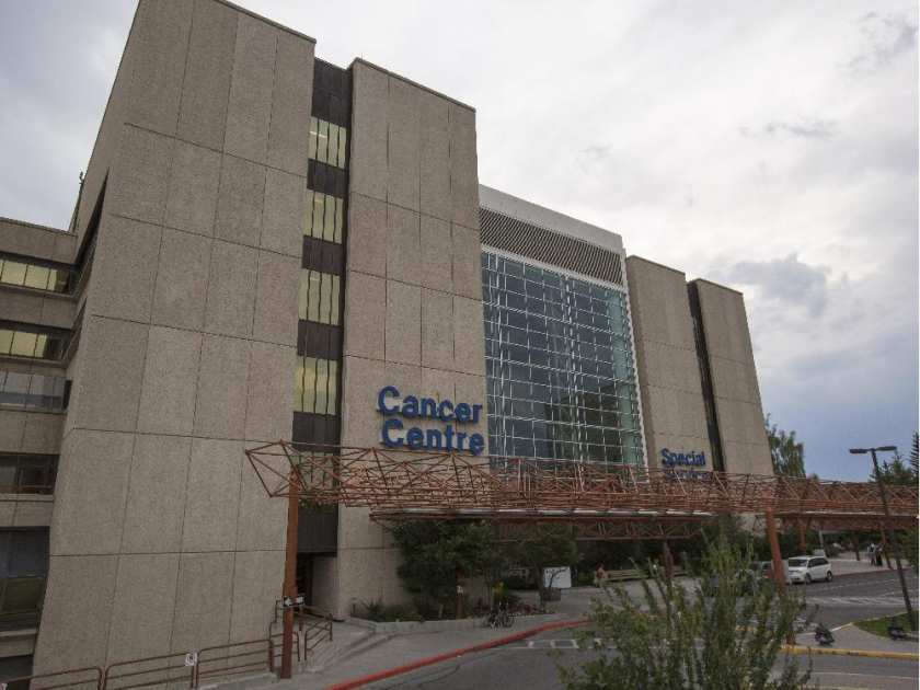 The Tom Baker Cancer Centre, a sight many testicular cancer patients in Calgary know well
