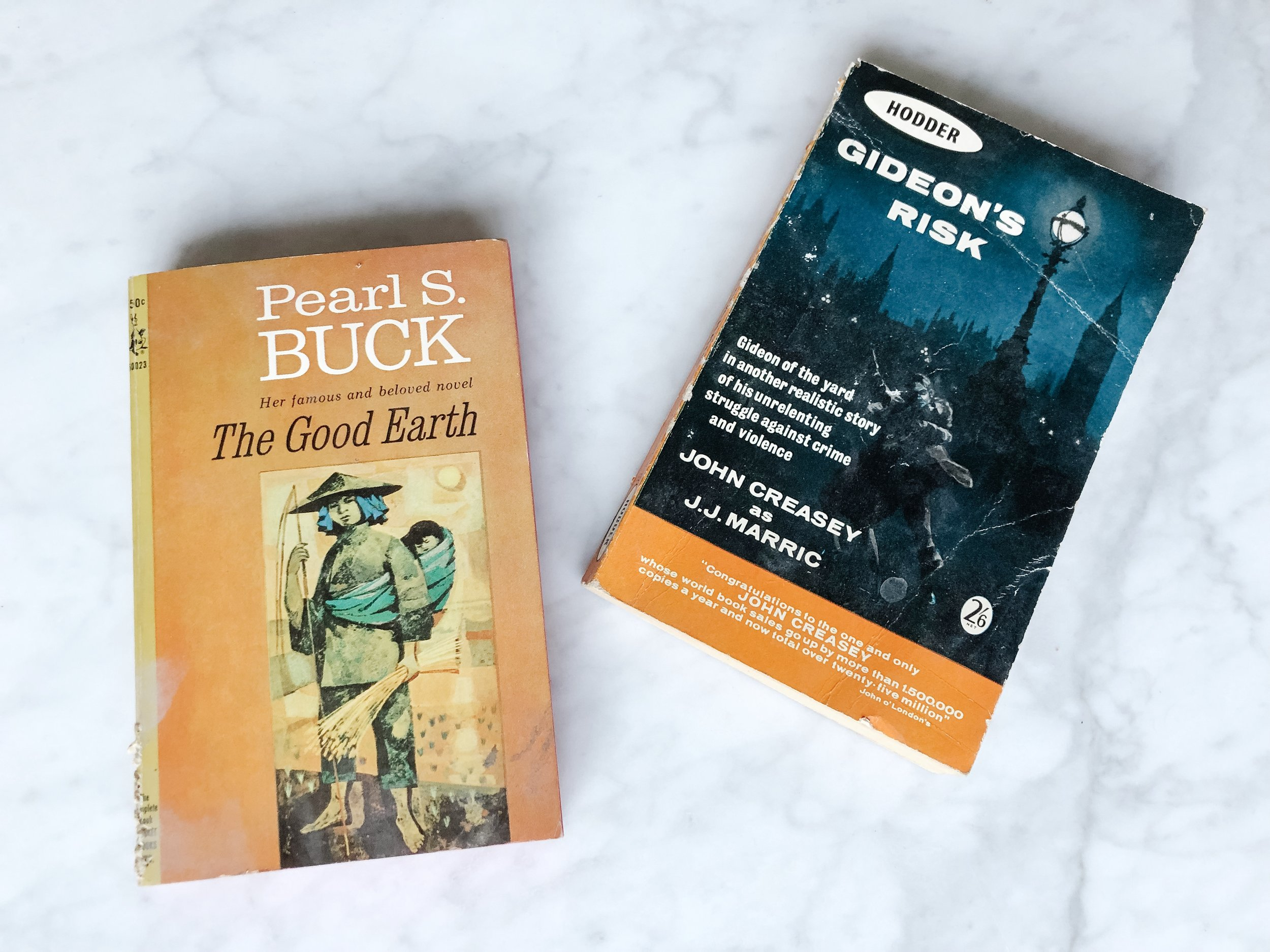 The 1964 version of The Good Earth and the 1962 version of Gideon's Risk