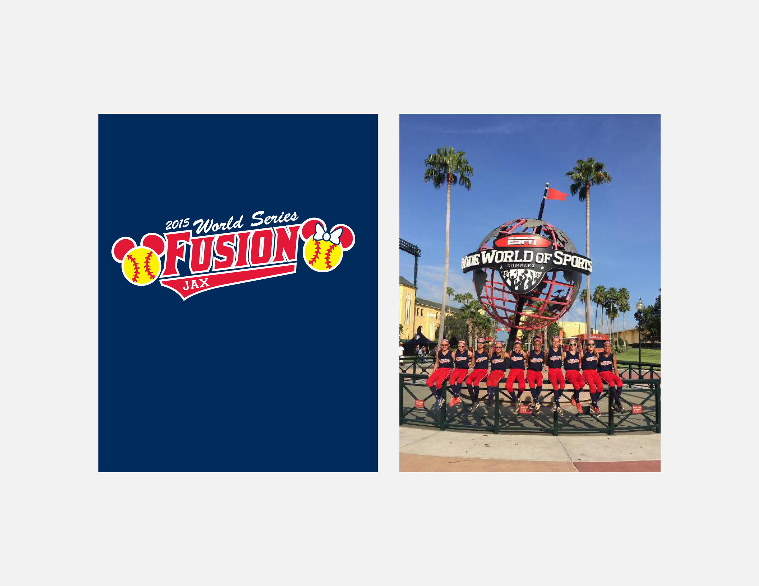Jax Fusion Disney World Series T-shirts