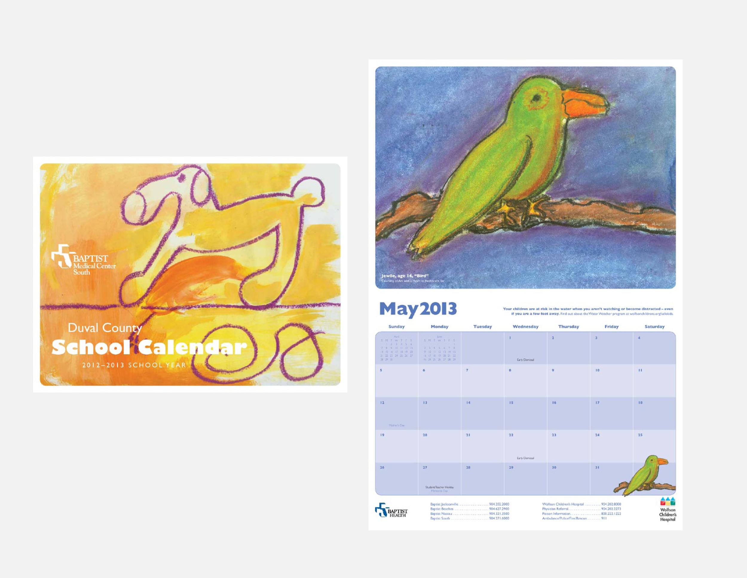Baptist Health School Calendars