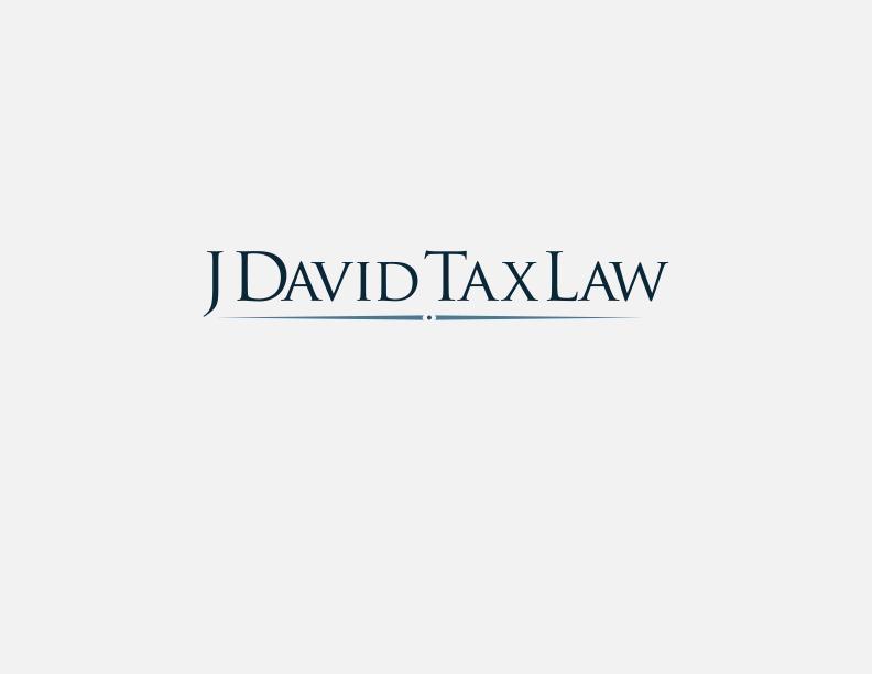 J David Tax Law