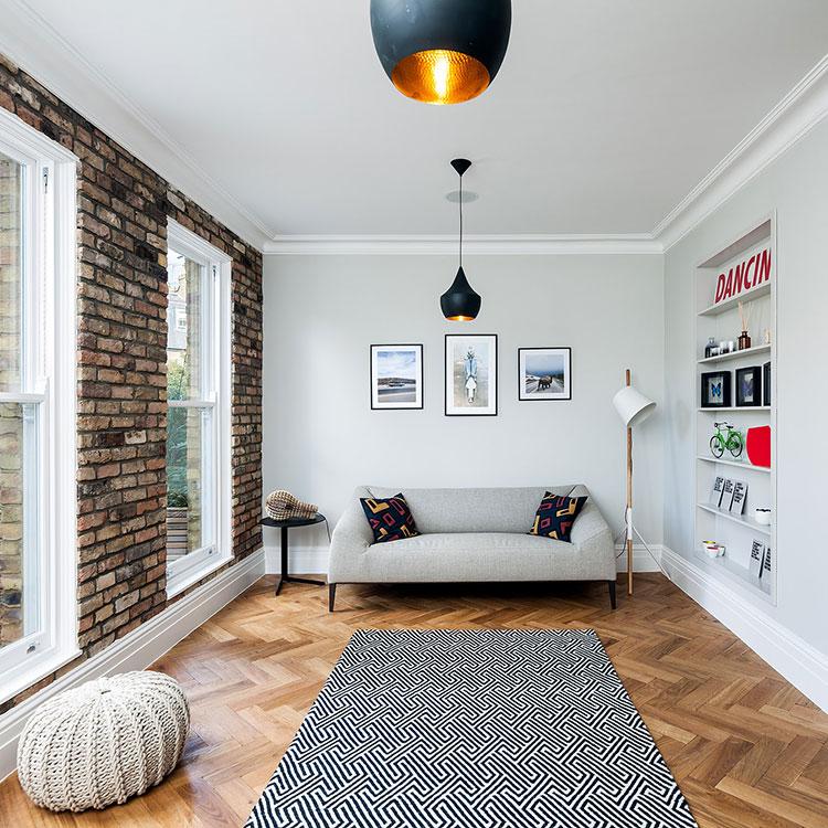 Opulen living room in London