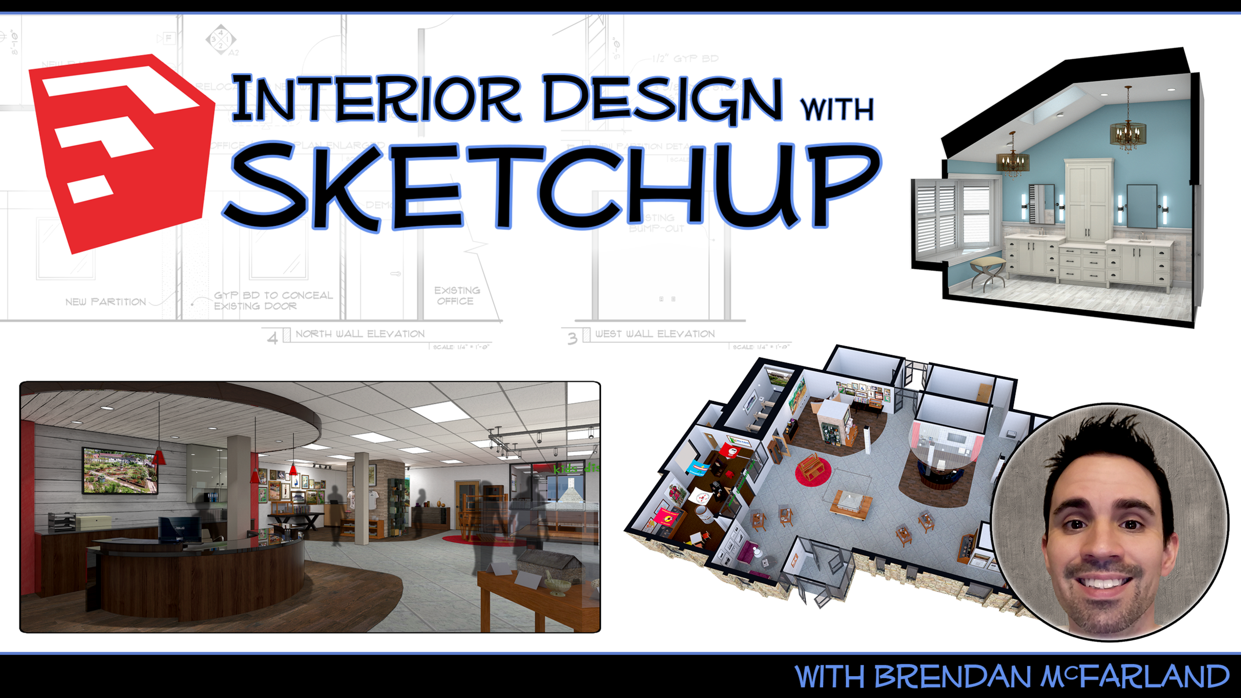 Want to learn how to make super sweet renderings for your interior design projects in sketchup? Of course you do! Subscribe to my youtube channel and learn how :D