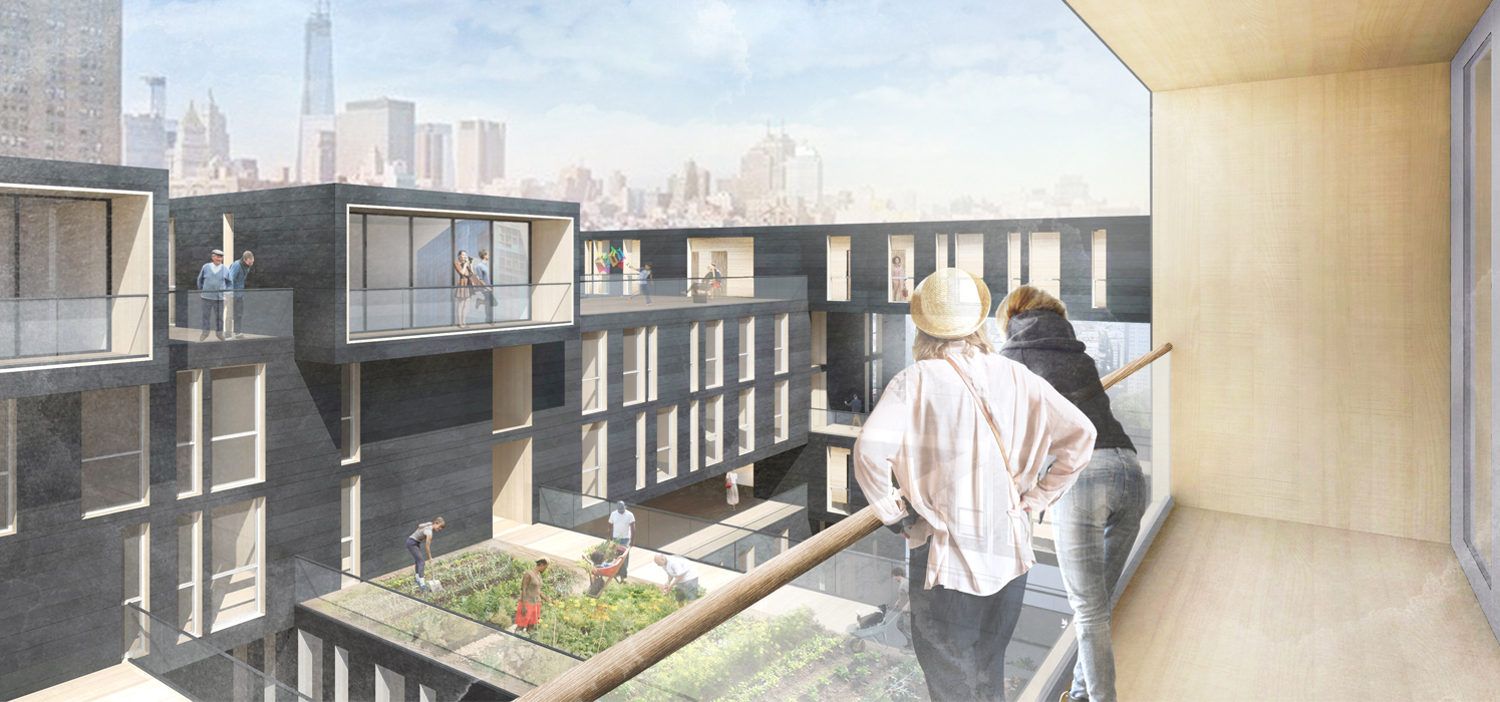 Rending 03/ Common Rooftop and Urban Agriculture