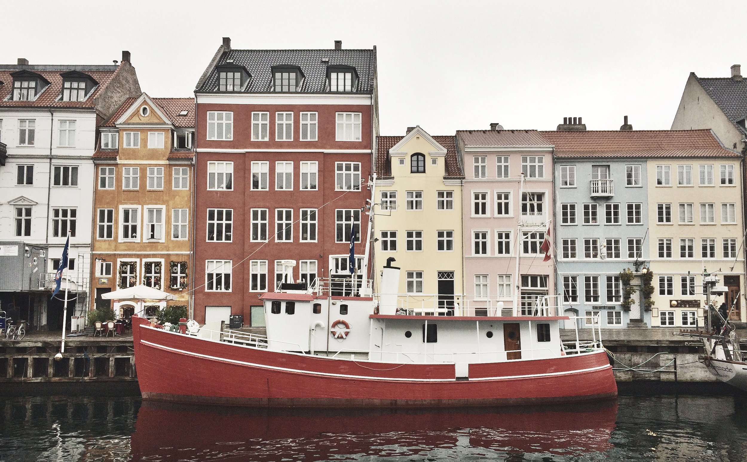 Nyhavn, commute to work, photo by Author