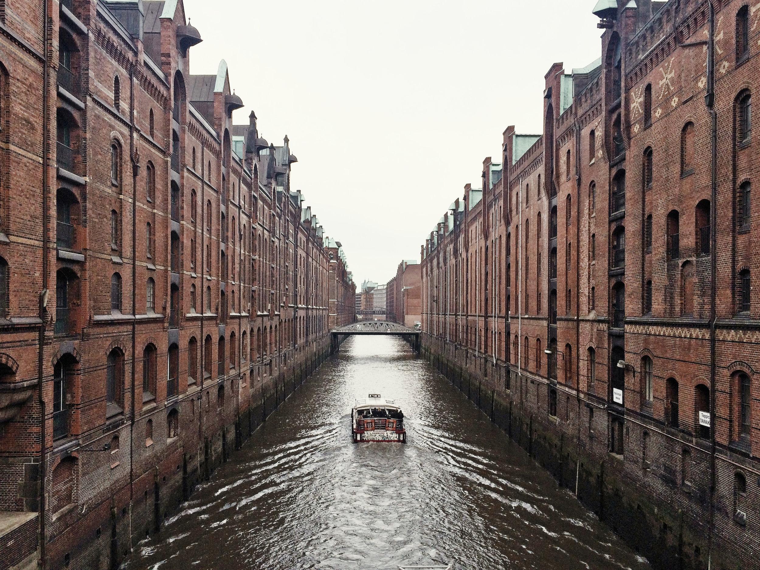 Speiherstadt, the Warehouse District, Hamburg,photo by author