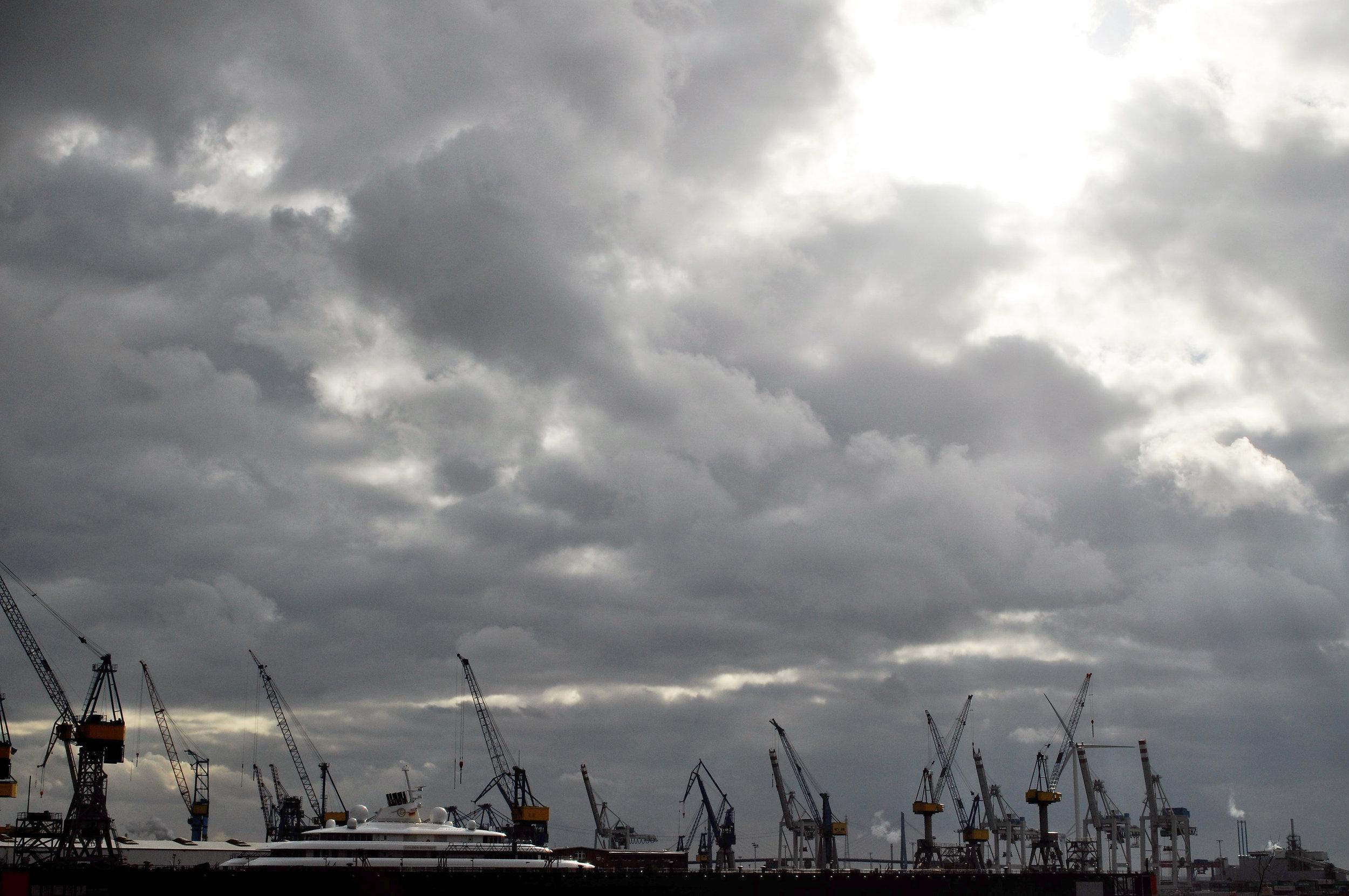 Hamburg Skyline,photo by author