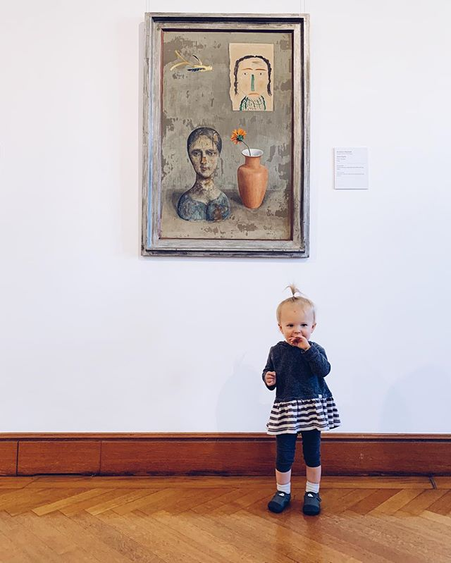 Rowena is feeling much better 🎉🎉🎉🎉and got to enjoy some art in Vienna 👩🏻‍🎨👶🏻🎉🚢