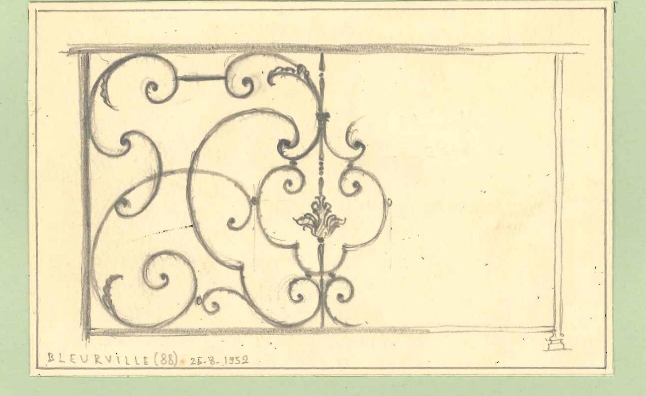 Bleurville (88) 25/08/1952