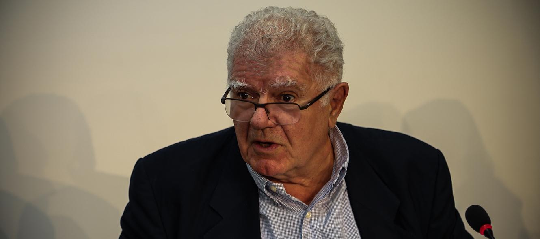 Le négociateur franco-suisse Jean-Pierre Gontard vu par © Charlotte Julie / Genève, 2015