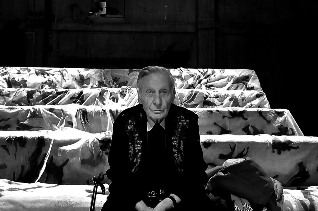 Image A du triptyque réalisé par Georges Cabrera / Théâtre de la Parfumerie, Genève, 22 novembre 2012