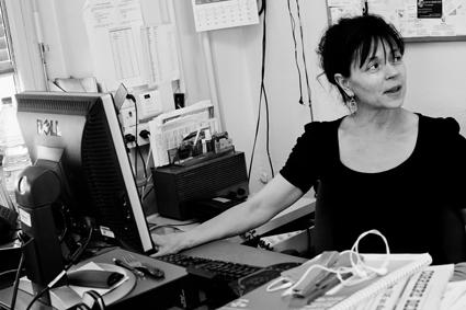 Silvana Bassetti, correspondante de l'ANSA © Anastasia Dutova