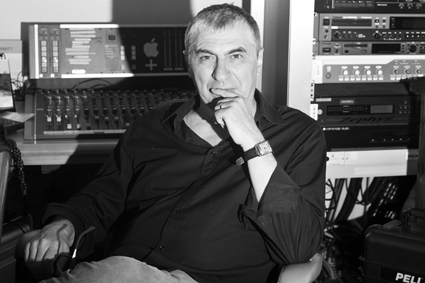 Luca Solari, studio radio de l'ONU © Anastasia Dutova