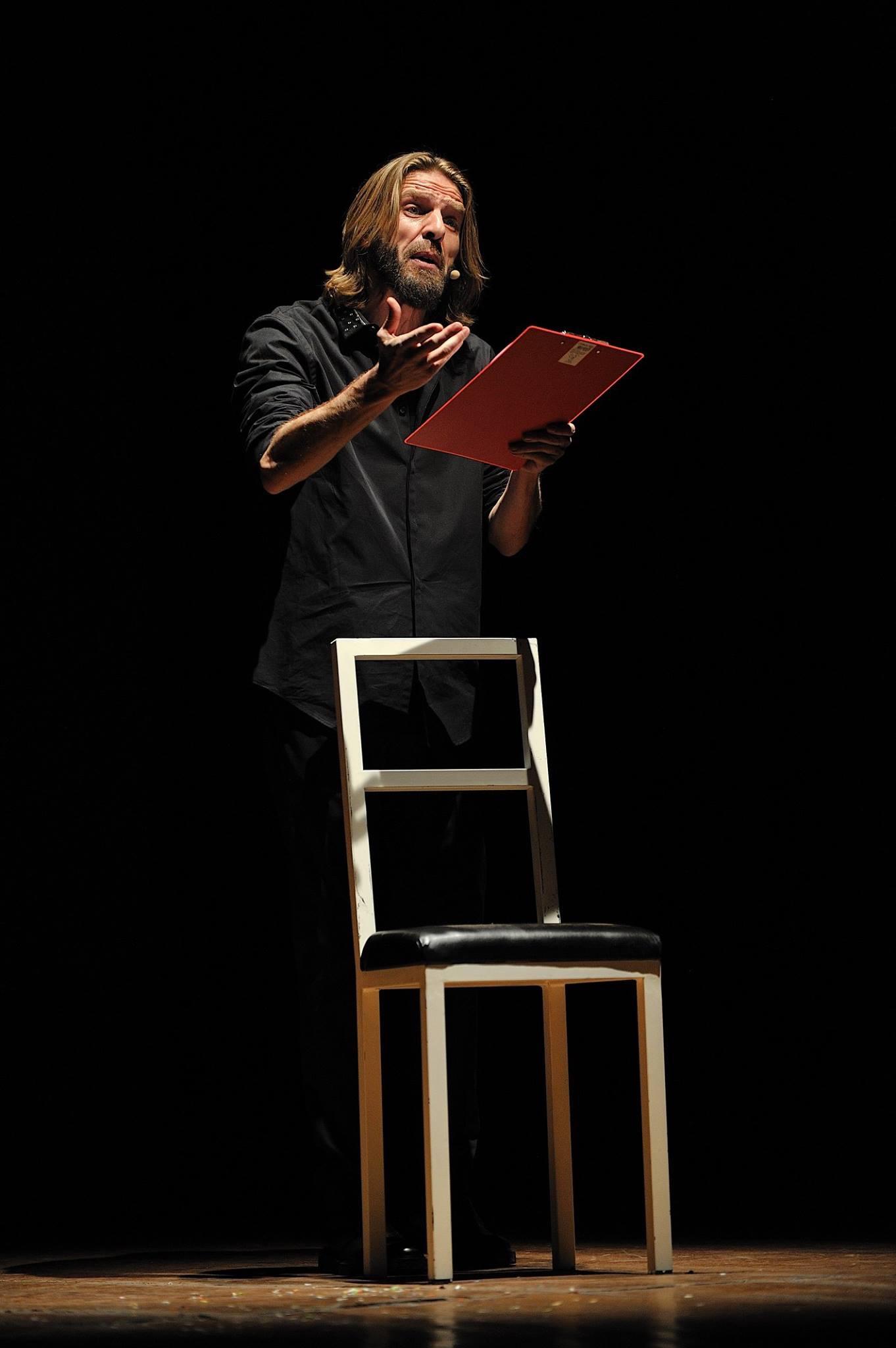 L'écrivain, musicien et acteur Giulio Casale. © Leonardo Arrisi
