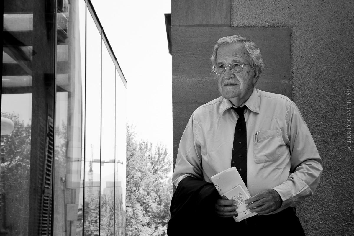 Noam Chomsky vu par © Alberto Campi / 2014