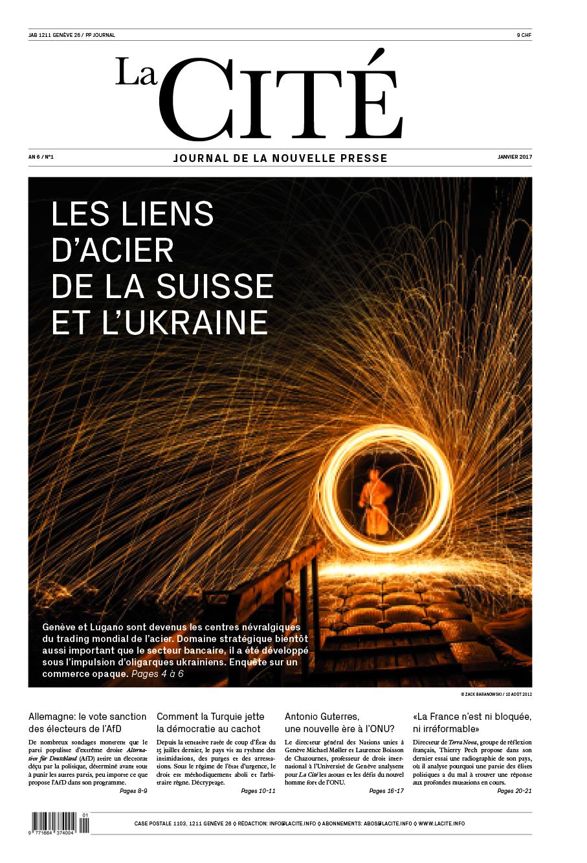 JANVIER 2017 - Édition n° 8024 pages