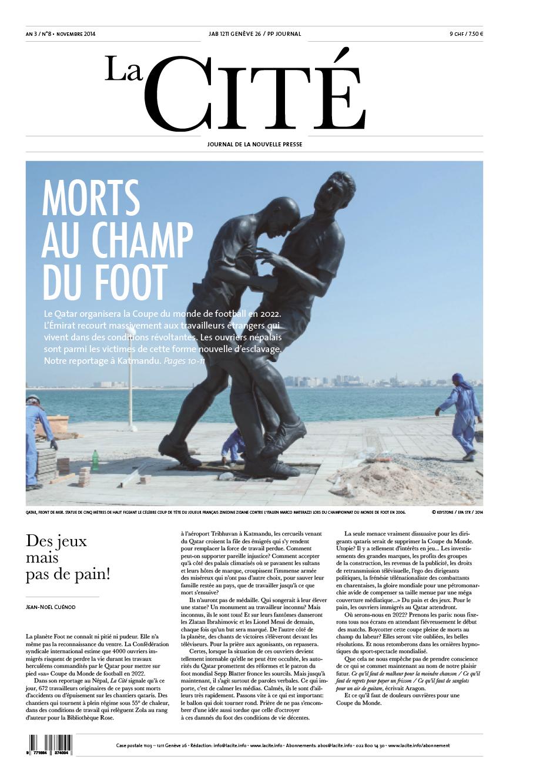 NOVEMBRE 2014 - Édition n° 5624 pages