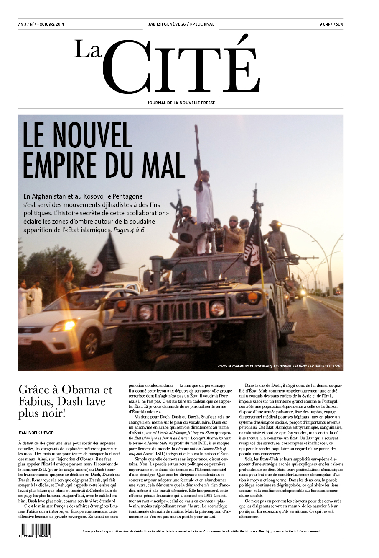 OCTOBRE 2014 - Édition n° 5524 pages