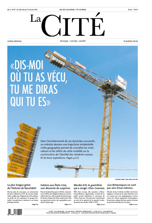 28 juin 2013 - Édition n° 4324 pages