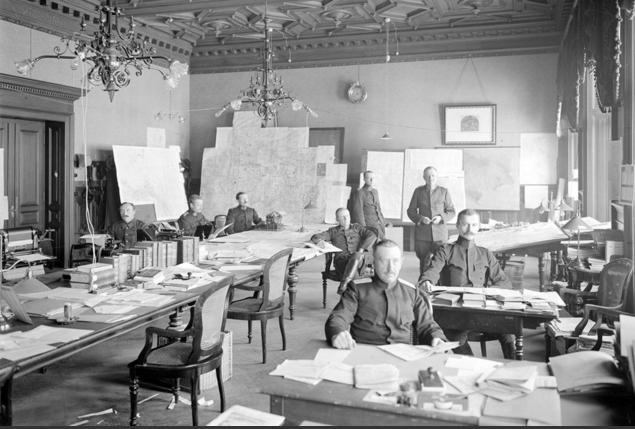 Le Service d'espionnage suisse dans les années 1920 © DR