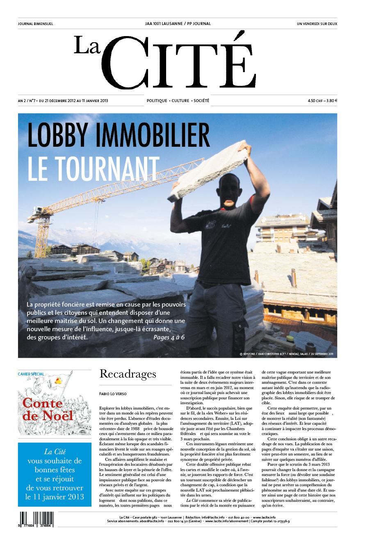 21 décembre 2012 - Édition n° 3124 pages