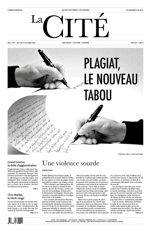5 octobre 2012 - Édition n° 2624 pages