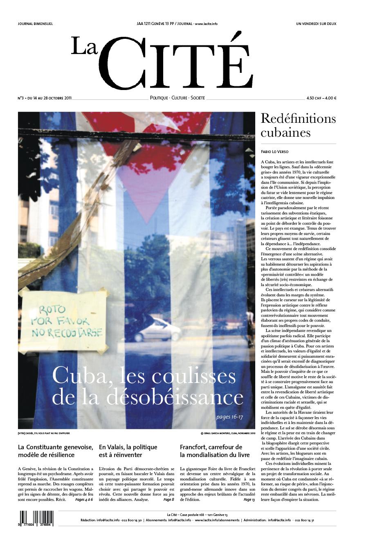 14 octobre 2011 - Édition n° 324 pages