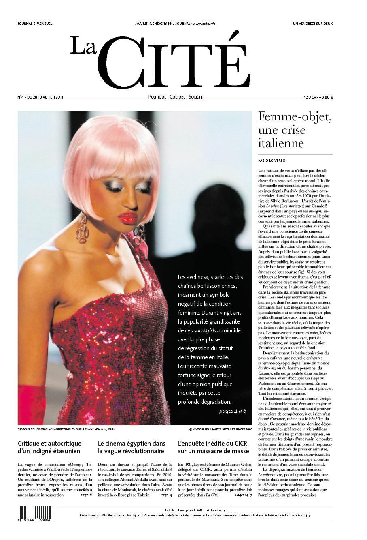 28 octobre 2011 - Édition n° 424 pages